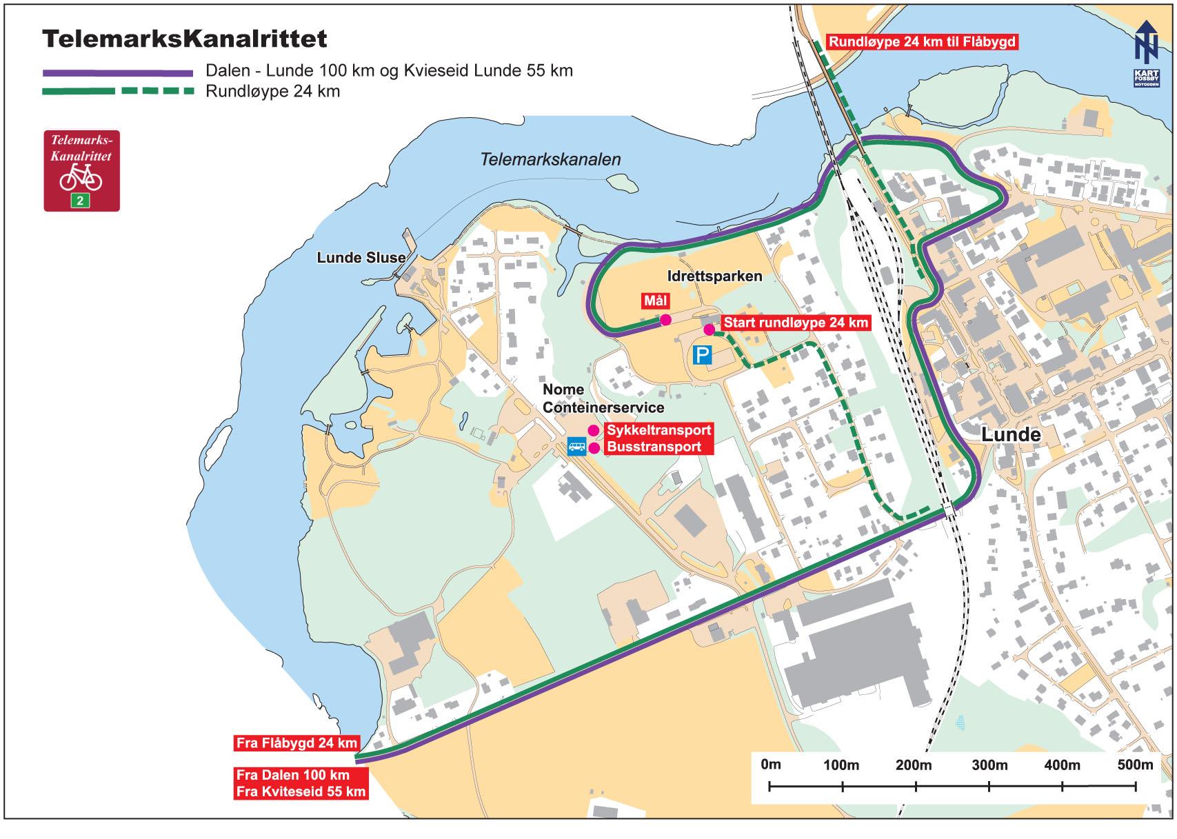 Viktig info buss- og sykkeltransport!
